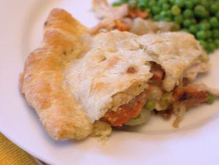 Chicken Pot Pie Sagemary Crust