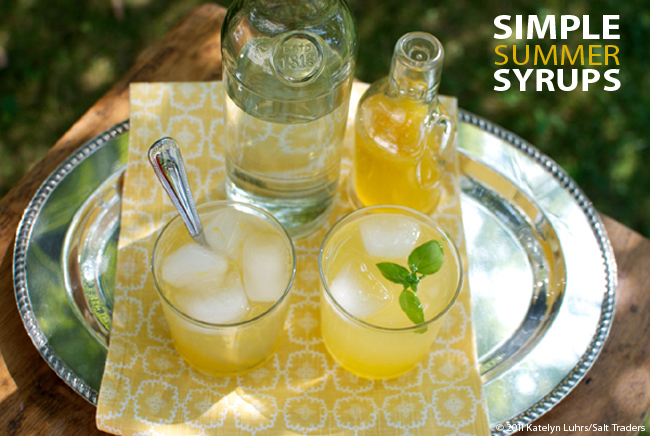 Herb Syrup Banner